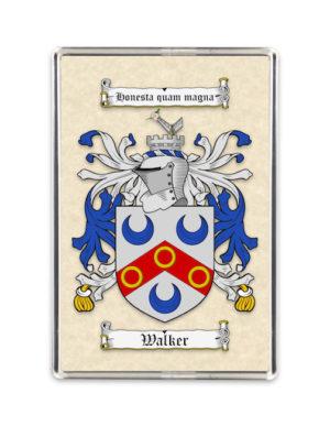 Coat of Arms (Family Crest) Fridge Magnet (Plain Parchment)