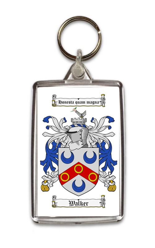 Surname Coats of Arms (Family Crest) Key Rings