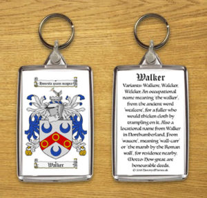 Coat of Arms (Family Crest) Key Rings